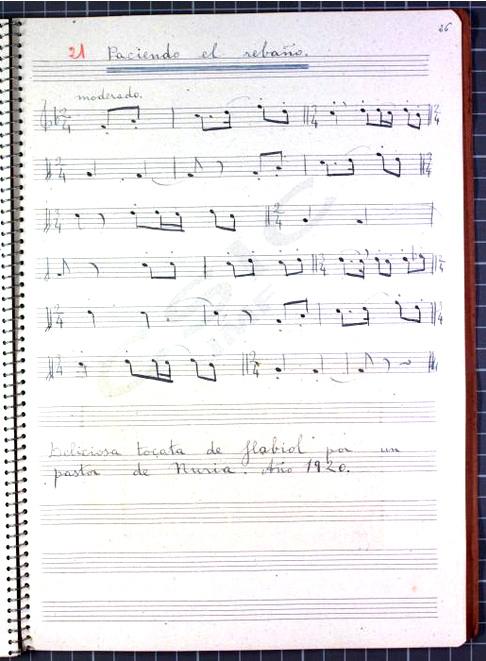 Una colección de patrimonio musical español